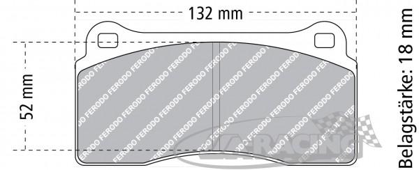 PFC Bremsbelag Z-Rate PFC10