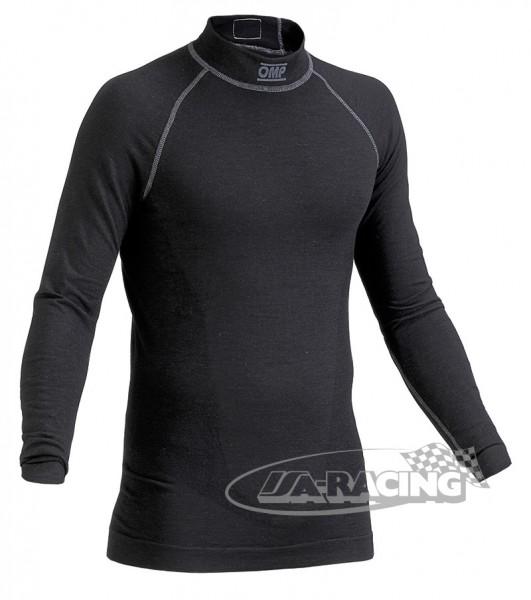 OMP Langarmshirt ONE, Unterwäsche schwarz