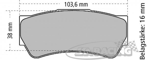 Pagid Bremsbelag RSL 19