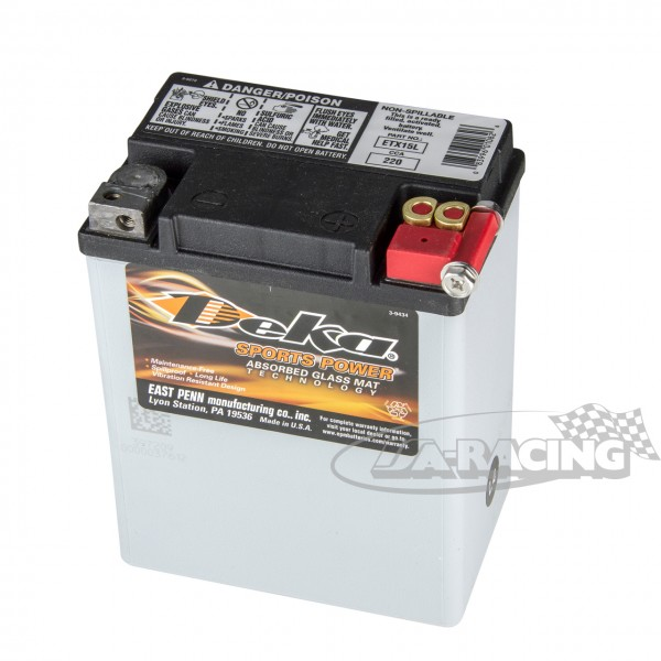 Deka EXT15L Power Sport Batterie