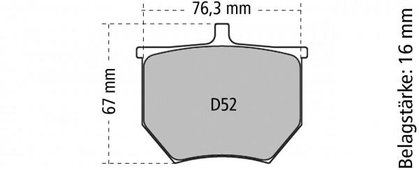 Ferodo Bremsbelag DS 3000