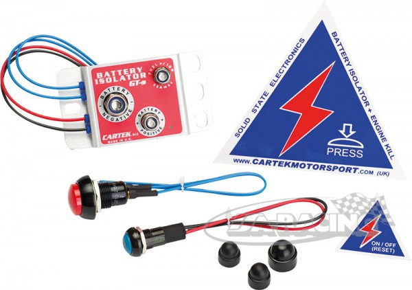Elektronischer Batteriehauptschalter