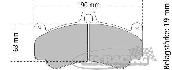 Pagid Bremsbelag RSL 29