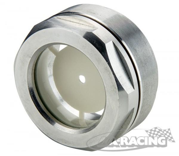 Aluminium-Schauglas