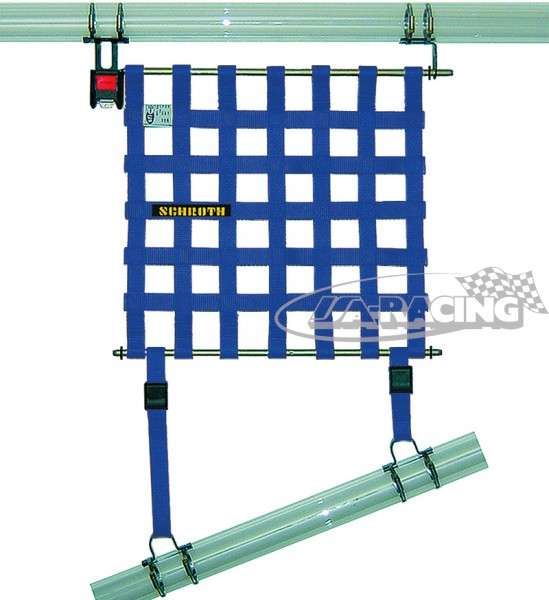 Fensternetz inklusive Halter