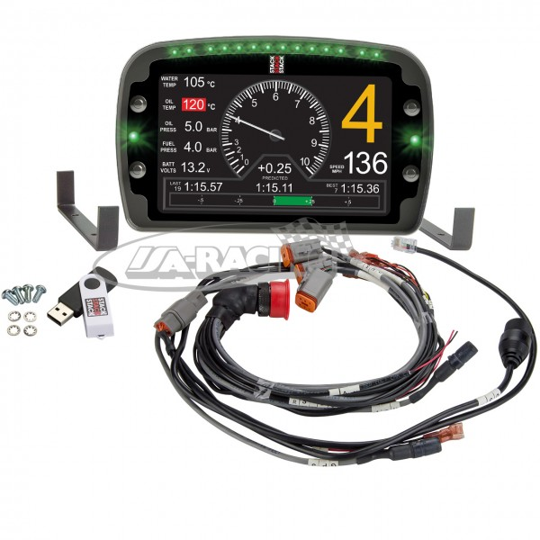 ST9918 Race Dash LCD Displaylogger