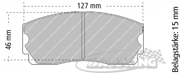 Pagid Bremsbelag RS 29