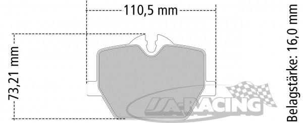 Pagid Bremsbelag RSL29