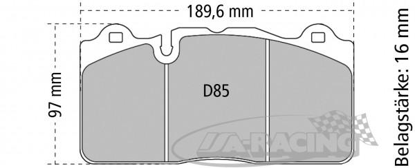 Pagid Bremsbelag RSC 2