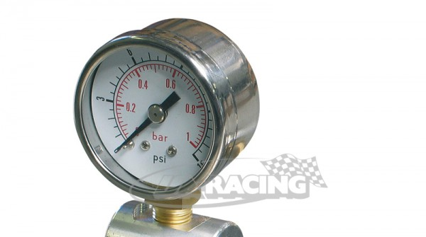 Benzindruck Manometer