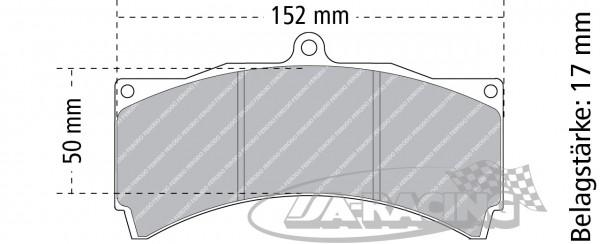 AP Racing Bremsbelag APF 404