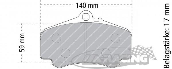 Pagid Bremsbelag RS 44