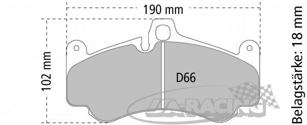 Pagid Bremsbelag RSC 3