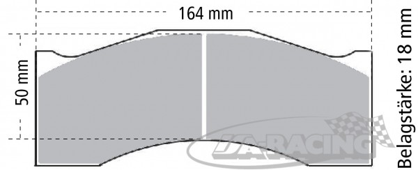 Pagid Bremsbelag RST 1