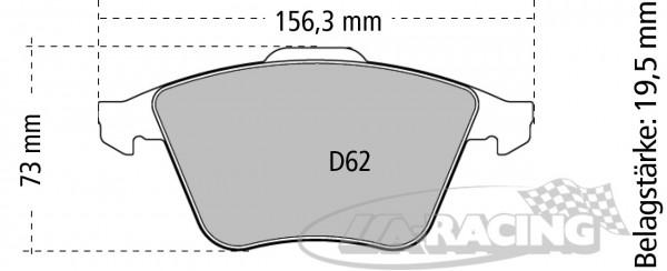 Ferodo Bremsbelag DS 2500