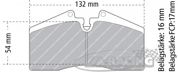 Pagid Bremsbelag RS 42
