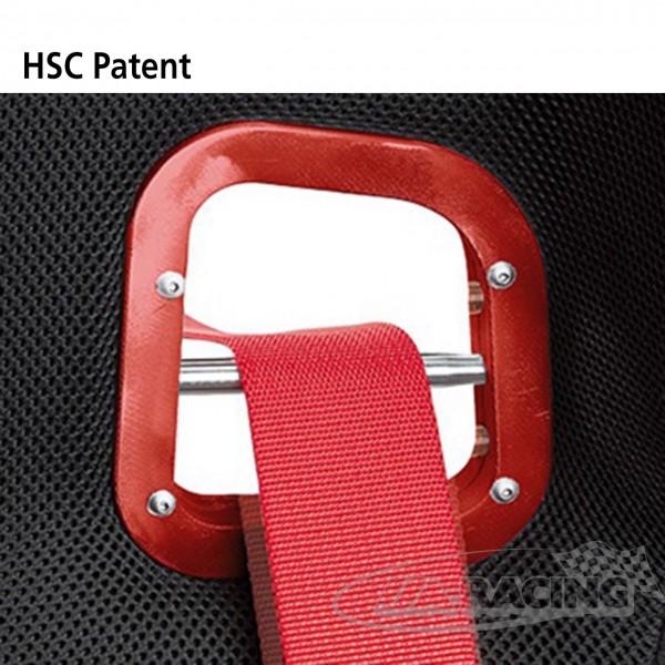 HSC höhenverstellbare Schulter-Gurtöffnungen