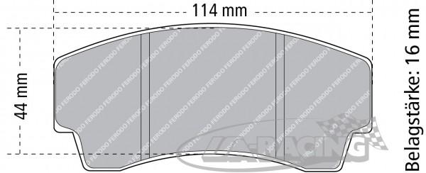 Pagid Bremsbelag RS 14